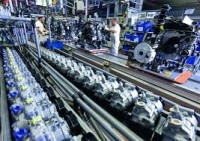 Niemcy praca na linii produkcyjnej części samochodowych Heilbad